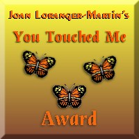 You Touched Me Award