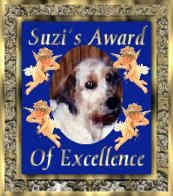 Suzi's Award of Excellence